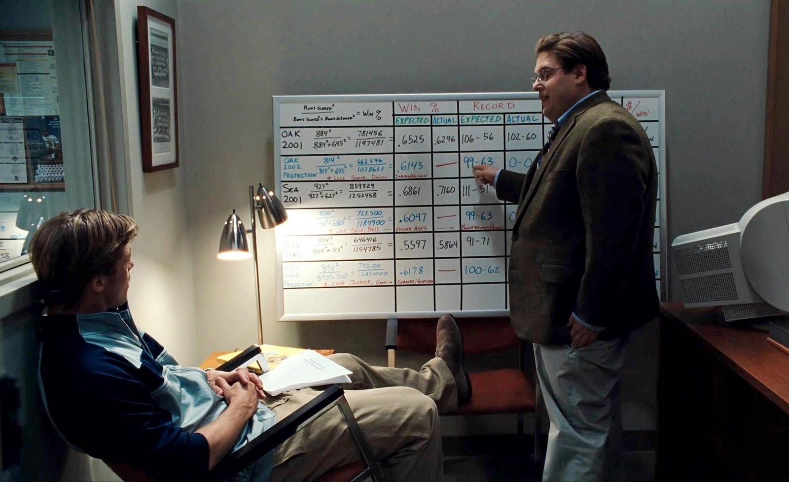 Peter mostrando os dados para o Bill