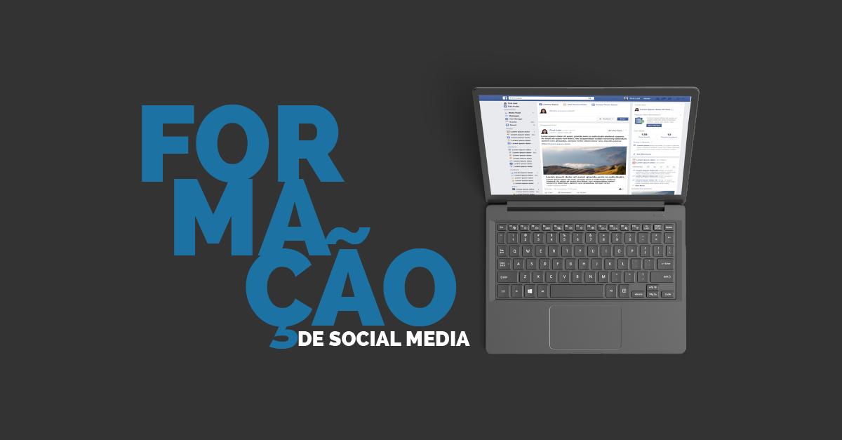 Banner da Formação de Social Media