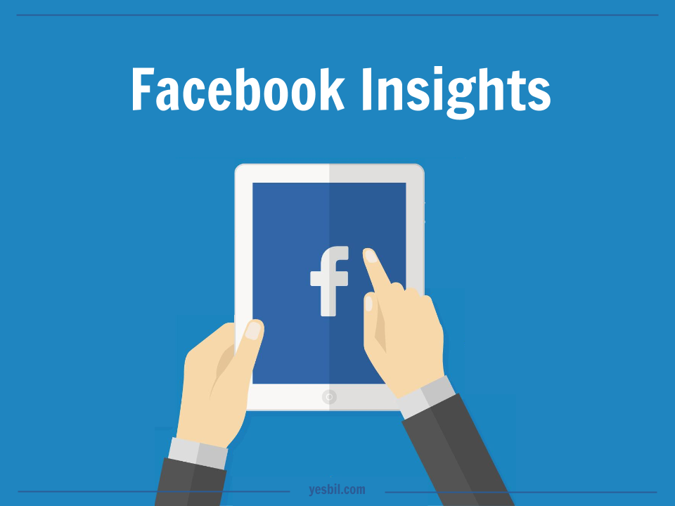 mãos segurando tablet com icone do Facebook na tela